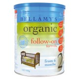 Bellamy's Organic 贝拉米有机奶粉 二段(3罐6罐价更优)