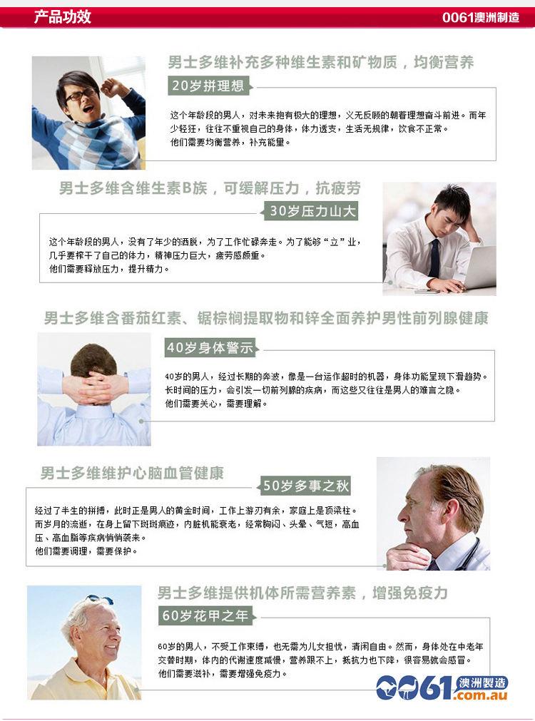 不同年龄阶层的产品功效及产品成分