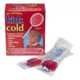 All Natural Kids Cold缓解儿童感冒发烧棒棒糖10支装红莓味