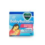 Vicks Baby Balsam宝宝婴儿儿童感冒舒缓膏 伤风止咳通鼻膏50g