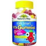 Nature's Way佳思敏Omega3儿童鱼油咀嚼软糖60粒
