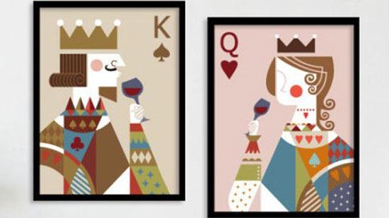 那些我们不知道的--扑克牌上历史人物图片
