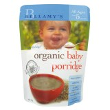Bellamy's贝拉米有机燕麦米糊米粥5+婴儿宝宝辅食