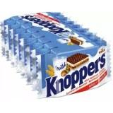 knoppers牛奶榛子巧克力威化夹心饼干8块/条