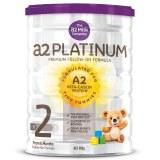 a2白金系列高端婴幼儿配方奶粉二段