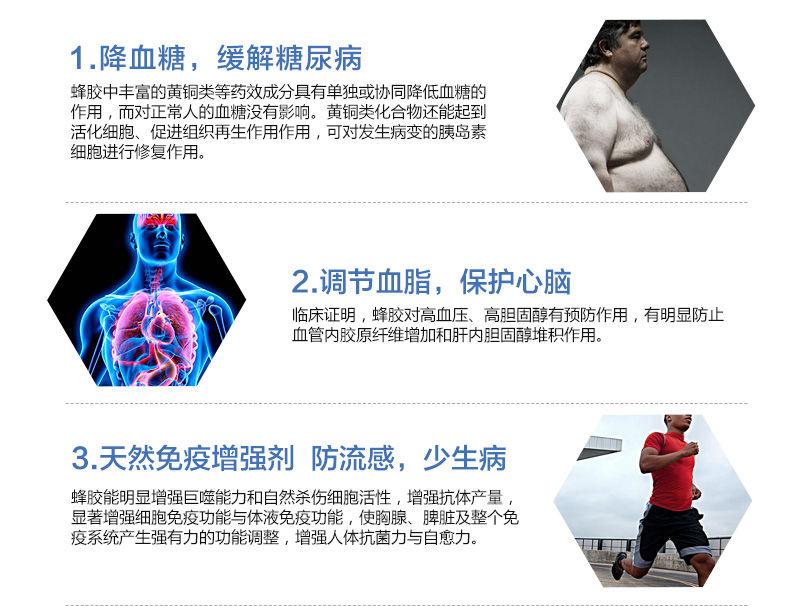 Healthy Care 纯蜂胶精华2000mgx200粒 功效