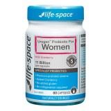 Life Space蔓越莓益生菌胶囊60粒女性妇科肠胃调理