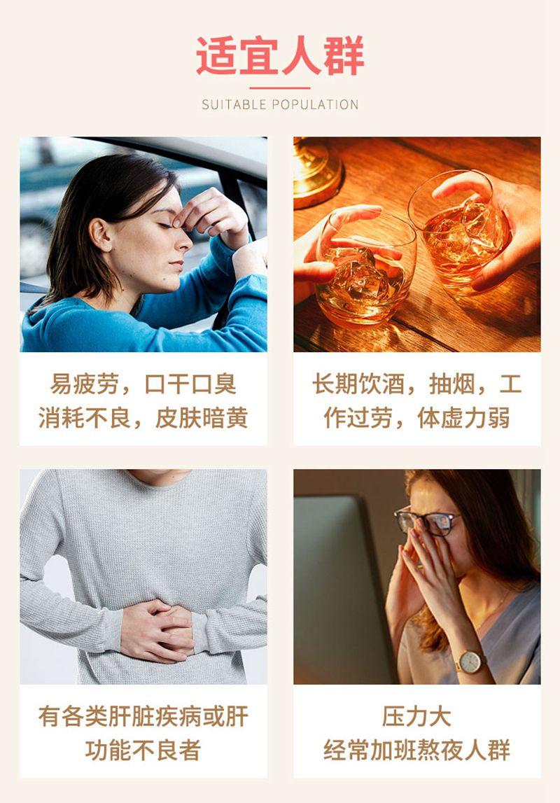 Swisse Liver Detox护肝片加速酒精分解保护肝脏200粒 适宜人群