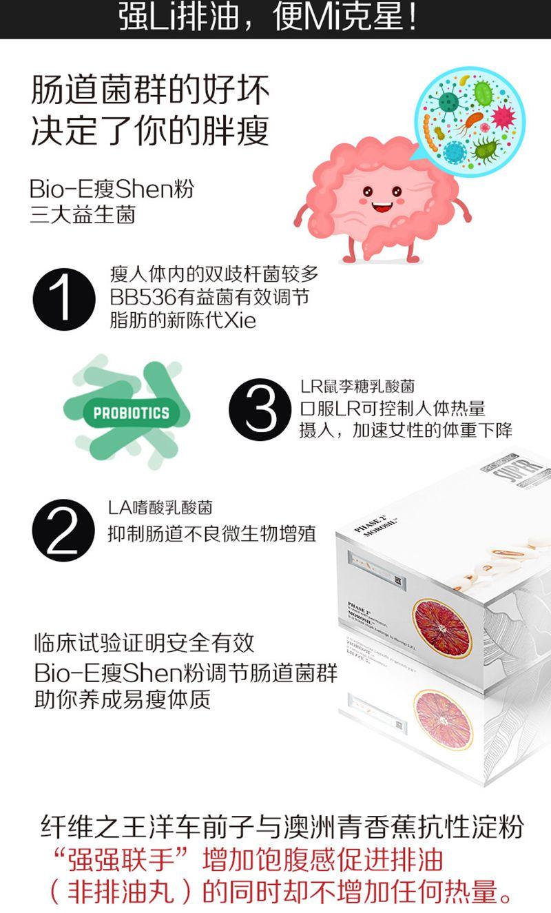 bio-e瘦身粉益生菌酵素代餐粉清肠果蔬粉奶茶味28袋/盒  成分