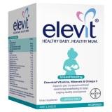 Elevit爱乐维哺乳期母乳澳洲复合维生素DHA叶黄素60粒装