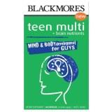 Blackmores青少年男性复合维生素60粒 补充大脑营养健康