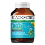 Blackmores 深海鱼油 鱼油软胶囊 200粒无腥味mini版