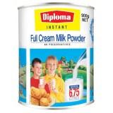 Diploma速溶全脂奶粉 青少年儿童学生奶粉 高钙补钙 900g(3罐6罐价更优)