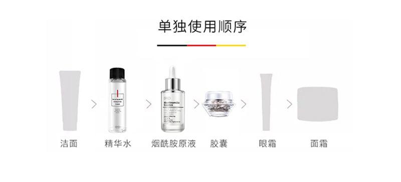 RMD烟酰胺原液面部精华液面霜收缩毛孔补水保湿 使用方法