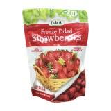 DJ&A天然冻干草莓零食小吃办公室零食果干100g