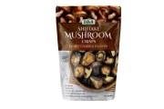 DJ & A咸香脆香菇干蘑菇干150g 天然即食 低卡路里零食