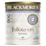 Blackmores婴幼儿配方牛奶粉900g二段 (3罐6罐价更优)