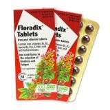 salus德国铁元floradix孕妇补铁补血女铁元素片剂便携红铁片84粒
