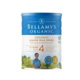 Bellamy's Organic 贝拉米有机奶粉 四段(新版)(3罐6罐价更优)