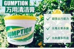 自从用了Gumption清洁膏,其他的清洁剂都是浮云!