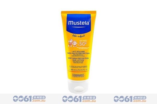法国mustela妙思乐_Mustela 法国 妙思乐 宝宝防晒乳SPF50+ - 0061澳洲制造