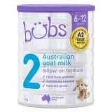 贝儿bubs羊奶粉婴儿宝宝儿童配方奶粉二段 (3罐6罐价更优)