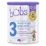 贝儿bubs羊奶粉婴儿宝宝儿童配方奶粉三段 (3罐6罐价更优)