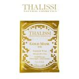 THALISSI西班牙皇室黄金面膜配方24k面部身体涂抹式洁面粉膜3张