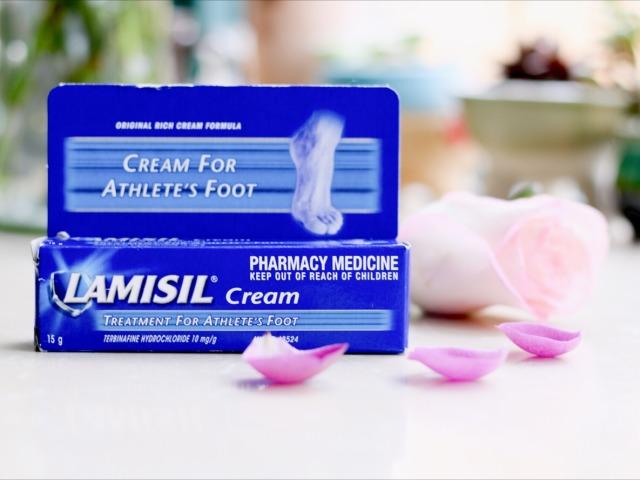 Lamisil cream脚气膏