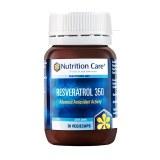 Nutrition Care白藜芦醇胶囊葡萄籽精华助胶原蛋白30粒