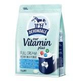 Devondale成人青少年学生德运奶粉1kg高钙维生素奶粉(3袋6袋价更优)