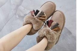 美到瞳孔地震的雪地靴
