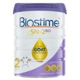 Biostime合生元金装婴幼儿羊奶粉2段800g (3罐6罐价更优)