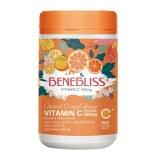 Benebliss维生素C含片咀嚼片儿童成人提高免疫力橙子味150粒