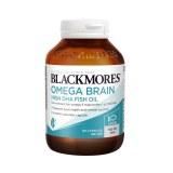 BLACKMORES澳佳宝健脑无腥深海鱼油60粒 4倍含量DHA