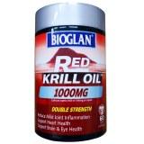 Bioglan红磷虾油1000mg 60粒