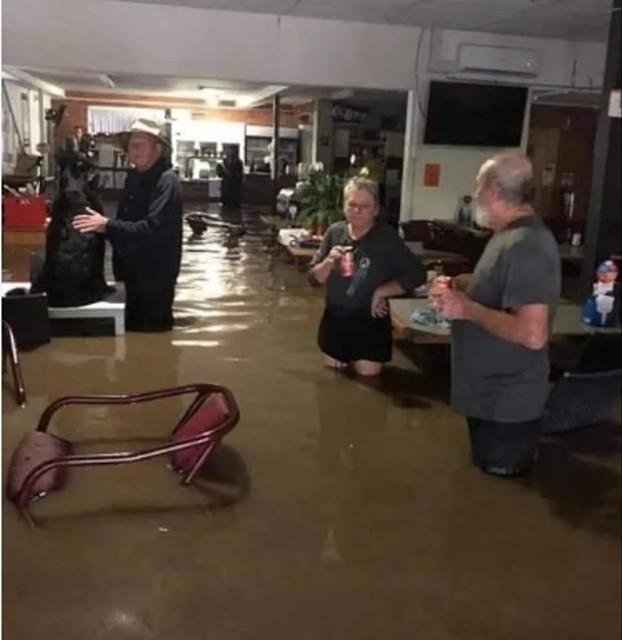 洪水过后的悉尼