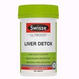 Swisse Liver Detox护肝片加速酒精分解保护肝脏200粒