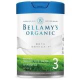 Bellamy 贝拉米白金版有机A2奶粉3段(3罐6罐价更优)