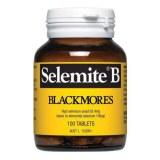 Blackmores Selemite B高硒酵母片硒片硒元素补硒100片粒